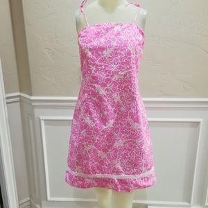 Vintage Lily Pulitzer pink sun dress